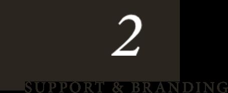 SUPPORT & BRANDING